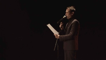 Anne-James Chaton (performance du 18 mars 2016)