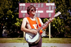 Pascal Larouche au banjo