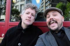 Daniel Canty et Simon Dumas