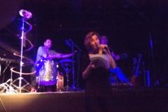 Sonia Cotten et les musiciens
