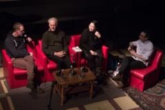 Marc Séguin, Yvan Simonis, Maya Cousineau Mollen et Nicholas Belleau (Paroles singulières, discours hégémoniques – 24 février 2016 au Cercle Lab vivant)