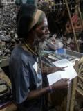 M. Louis, au marché de fer de Port-au-Prince
