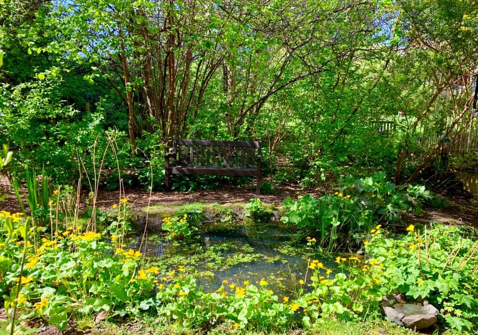 Jardin communautaire du Barbican Centre (1965-1976)