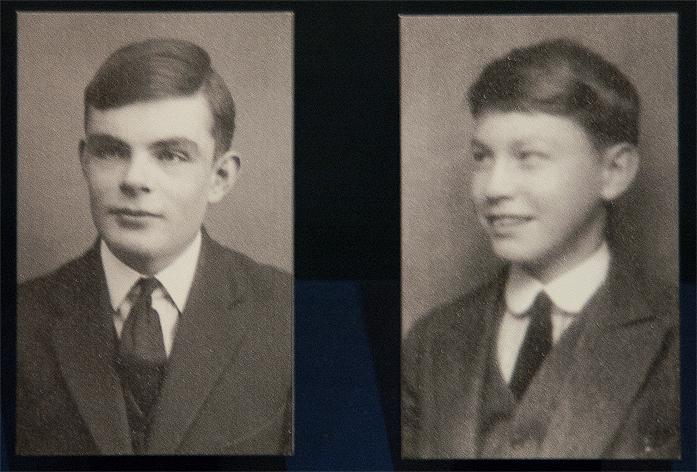 Alan Turing et Christopher Morcom 1928