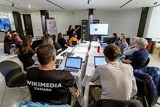 Atelier Wikipédia portant sur le Groupe Intervention Vidéo (GIV)