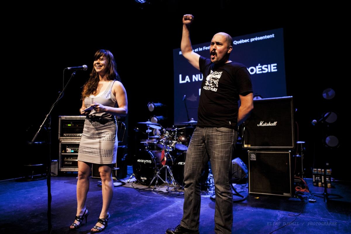 Sophie Bernier et Simon Dumas