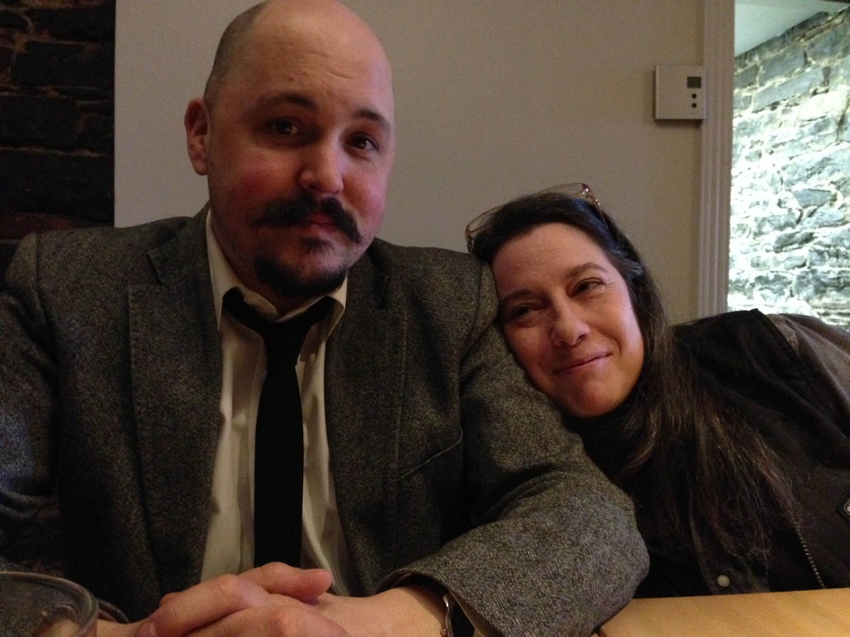 Simon Dumas et Catrine Godin