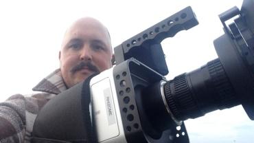 Simon Dumas à la caméra